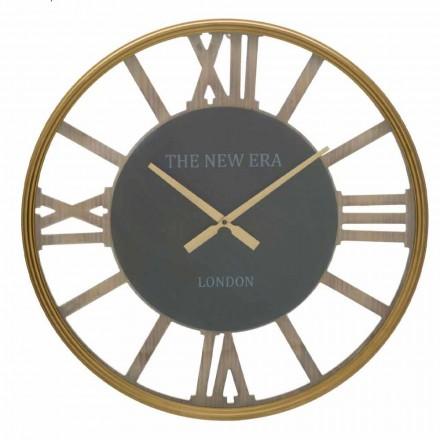 Průměr kulatých nástěnných hodin 60 cm v MDF - Krizia