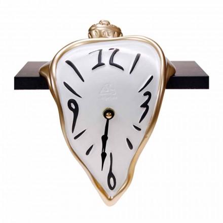 Pryskyřičné stolní hodiny s křemenným mechanismem vyrobené v Itálii - Cate