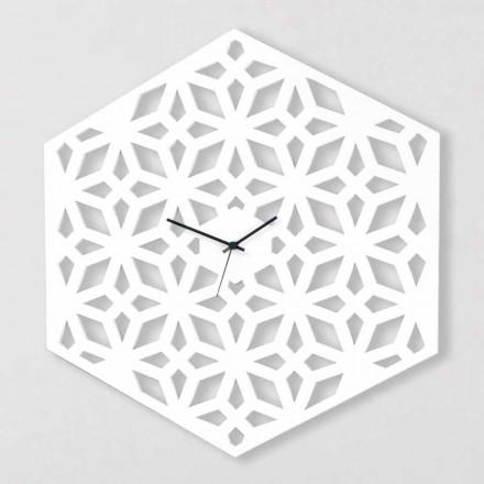 Velké nástěnné hodiny v provedení White Dove-Grey nebo Green Design - Tarto