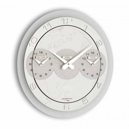 Moderní nástěnné hodiny Dininho Tris