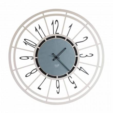 Moderní nástěnné hodiny v lískových oříšcích nebo černé v Itálii - Topino