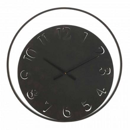 Průměr kulatých nástěnných hodin 60 cm Moderní železo - Beatrix