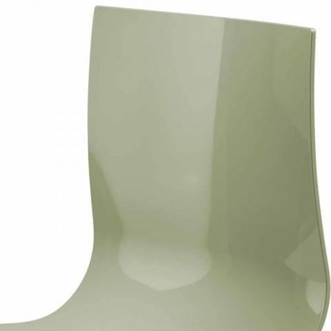 3místná kancelářská lavice z oceli a barevného recyklovaného technopolymeru - Verenza