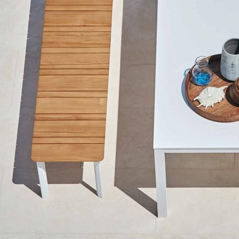 Varaschin Systémová venkovní lavička v designu lakovaného hliníku