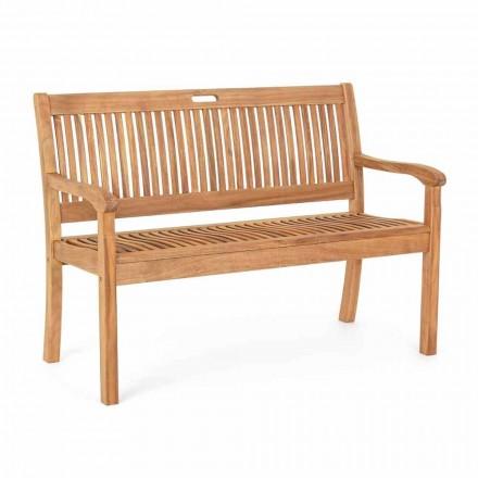 Zahradní lavička z akátového dřeva pro venkovní 2 nebo 3-místný design - Roxen