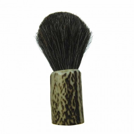 Ručně vyráběný štětec na holení s štětinami z koňských žíní Made in Italy - Euforia