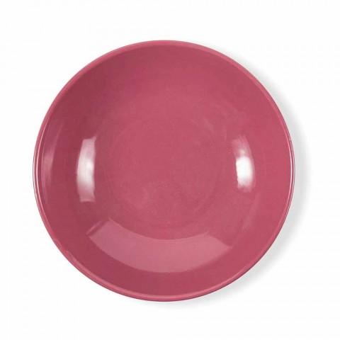 Barevné porcelánové a kamenné talíře Moderní stolní služba 18 kusů - Nagoya