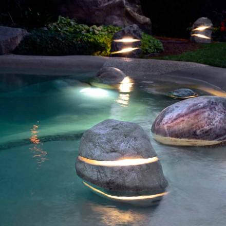 Kámen dekorativní osvětlení se naloží Illuminant dvakrát 2 štěrbinami