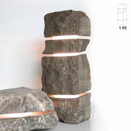 Kámen mramor Fior di Pesco Carnico světlý s 3 řezy Stonehenge