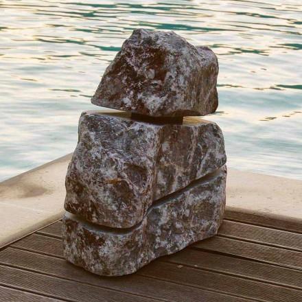 Světlý kámen mramor Fior di Pesco Carnico Led Cross, jeden kus