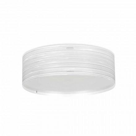 3 stropní svítidla moderního designu polypropylen Debby, průměr 60 cm