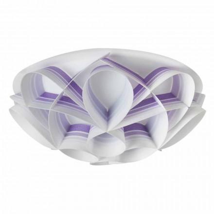 3 stropní svítidla vyrobené v Itálii moderního designu, prům. 51 cm, Lena
