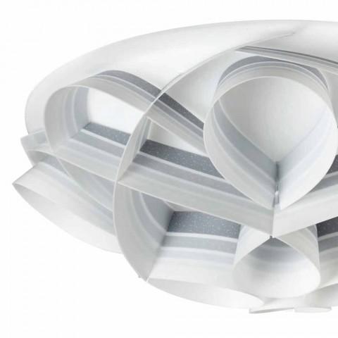 4 stropní světla v moderním designu vyrobené v Itálii, prům. 70 cm, Lena