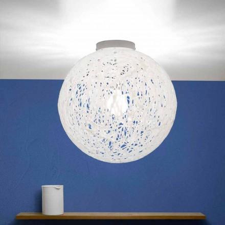 Moderní design stropní svítidlo vyrobené v Itálii Mady, průměr 48 cm
