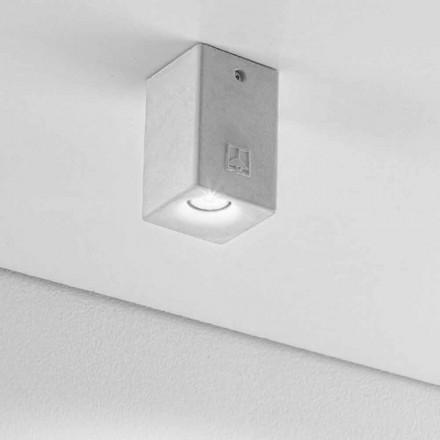čtvercové stropní svítidlo pro venkovní Led Nadir 2 Aldo Bernardi