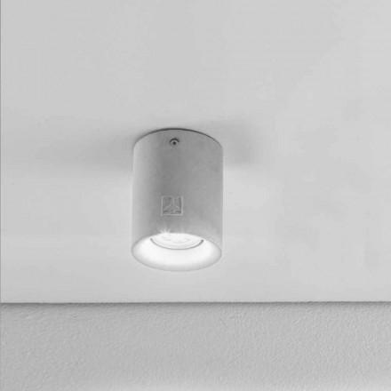 Kulaté stropní svítidlo vnější omítka / cementová Nadir 10 Aldo Bernardi