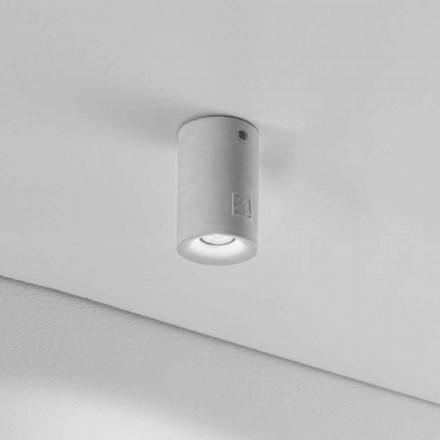 Kulatý strop pro externí zdroj Illuminant Nadir 9 do sádry nebo cementu