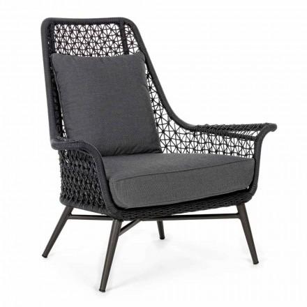 Moderní design venkovní křeslo z hliníku a Homemotion Fabric - Nigerio