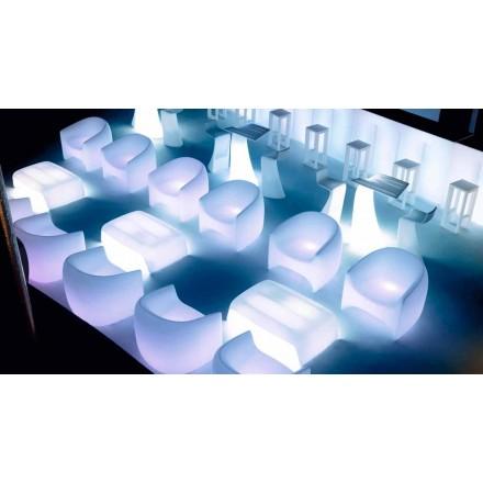 Moderní designové venkovní křeslo z polyethylenové pryskyřice Blow by Vondom