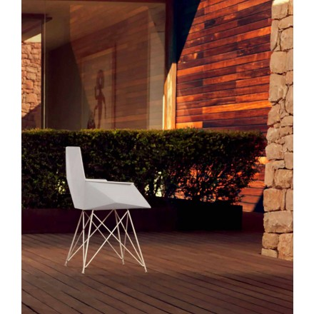 Moderní zahradní křeslo Faz kolekce Vondom, designér Ramòn Esteve