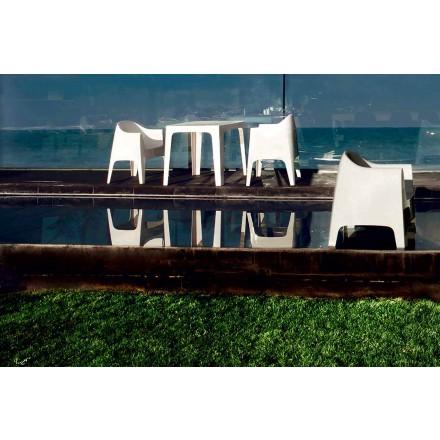 Moderní designové venkovní křeslo z polypropylenu, Solid by Vondom