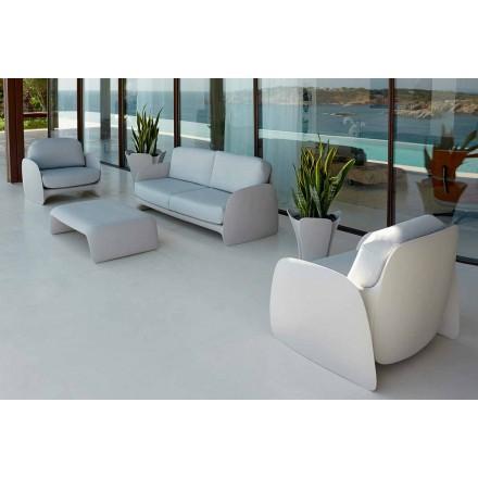 Moderní designové zahradní křeslo z polyethylenu, Pezzettina by Vondom