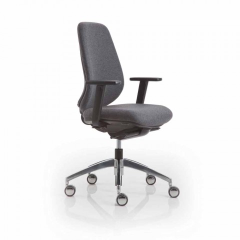 Kancelářské křeslo moderní design praxe, černý plast