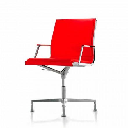 Výkonný kožené křeslo Office nebo textilie Nulite Luxy