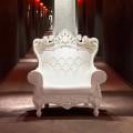 Barevné barokně-moderní křeslo Slide Queen Of Love, vyrobené v Itálii