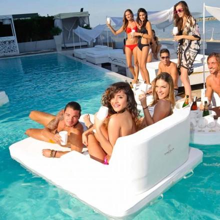 plovoucí bazén křeslo ve dvou zasedání Trona Magnum
