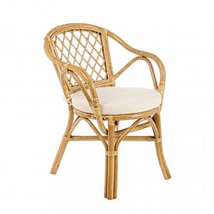 Stohovatelná venkovní zahradní židle v přírodním ratanu - Spore