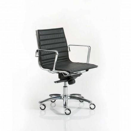 Výkonná kancelářská židle moderní design s kola z lehkých Luxy