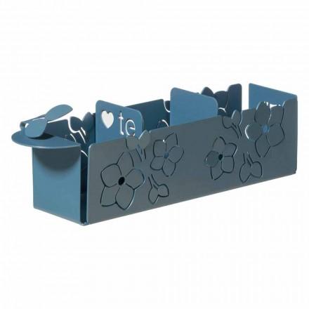 Porta The Sachets z květu moderního designu v železo Made in Italy - Marken