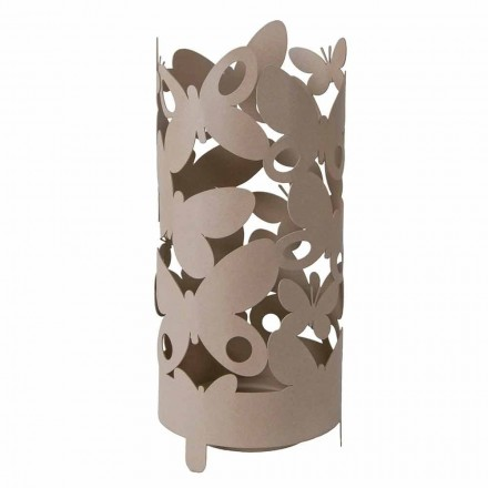 Designový deštník s kovovými motýly Made in Italy - Maura