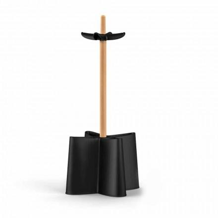 Deštník design přírodního buku a polypropylenu Nurri