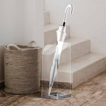 Deštník s originálním a moderním designem v průhledném plexiskle - pallium