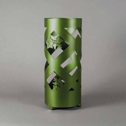 Deštník stojan v barevné železo moderního designu vyrobeno v Itálii - Enrica