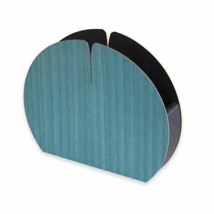 Moderní držák na ubrousky z přírodního dřeva vyrobený v Itálii - Stan