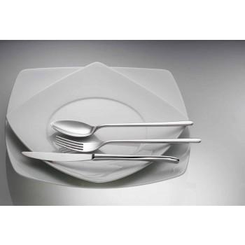 24dílné luxusní leštěné nebo pískované barevné příbory z nerezové oceli - Lapis