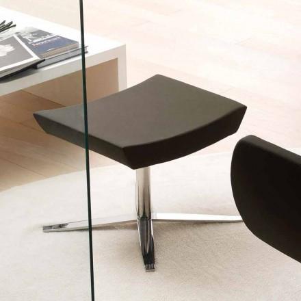 Moderní kancelářské pouzdro z eko kůže a hliníku - Clio