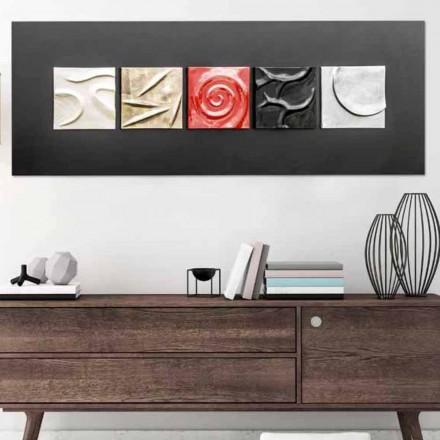 Ručně malované abstraktní design obrázek Moma