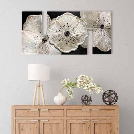 Obrázek s květinami Petunia Piccola Argento od Viadurini Decor