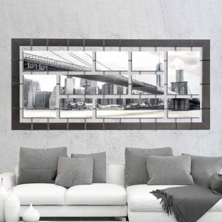 Panel se zavěšenými panely na ručně zdobených strunách Označení