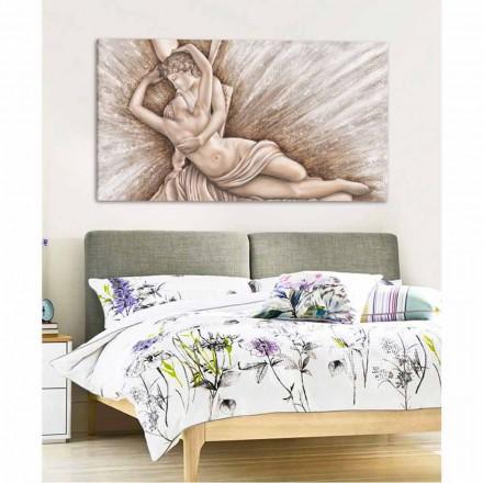 Moderní plátno design ručně vyrobené v Itálii Aurora