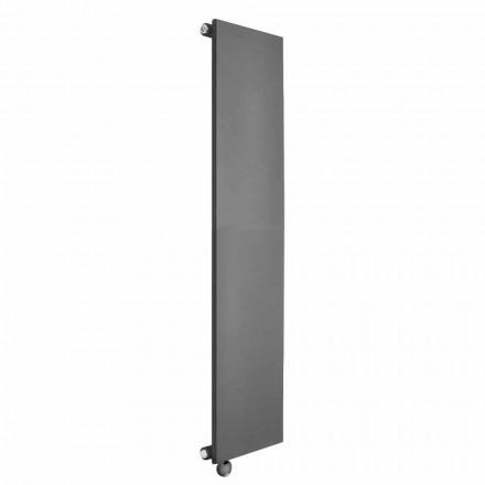 Vertikální elektrický radiátor s minimálním designem z barevné oceli 700 W - led