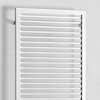 Elektrický radiátor na ručníky z bílé oceli - stín od Scirocco