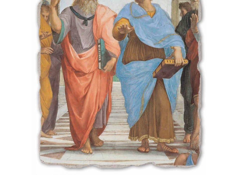 "Raffaello Sanzio ""School of Athens"" část. Plato a Artistotele"