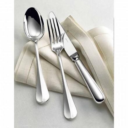 Rosenthal Sambonet Baguette sada příborů 75 kusů z niklového stříbra