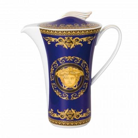 Rosenthal Versace Medusa Modrý káva v Číně pro 6 osob