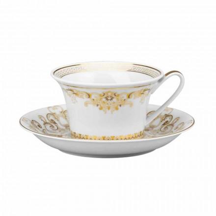 Rosenthal Versace Medusa Gala Cup designu porcelánu tea